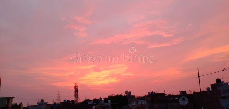 El cielo dice mucho foto de archivo