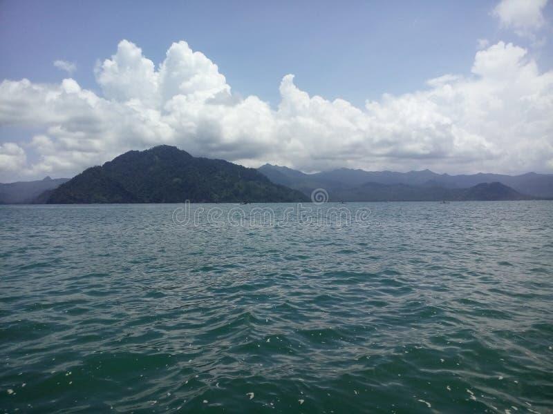 El cielo en el mar imagen de archivo libre de regalías