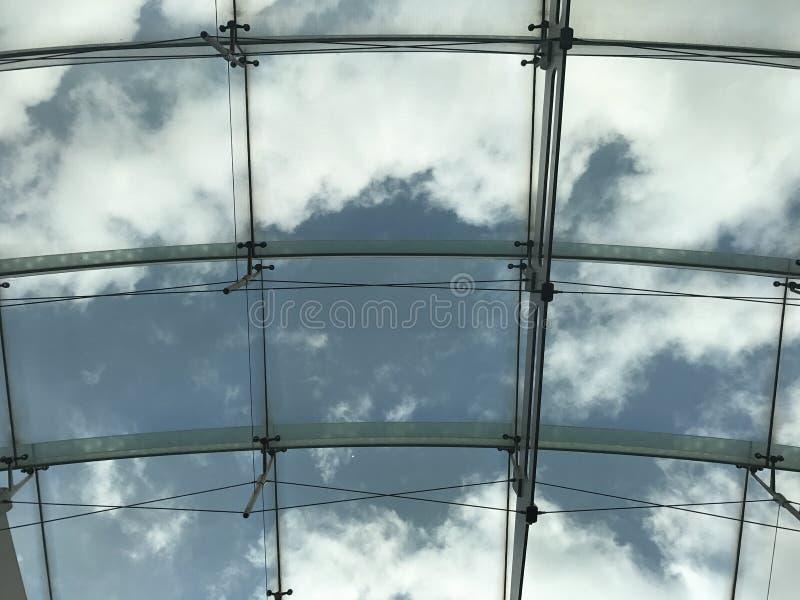 El cielo enmarcado fotografía de archivo libre de regalías