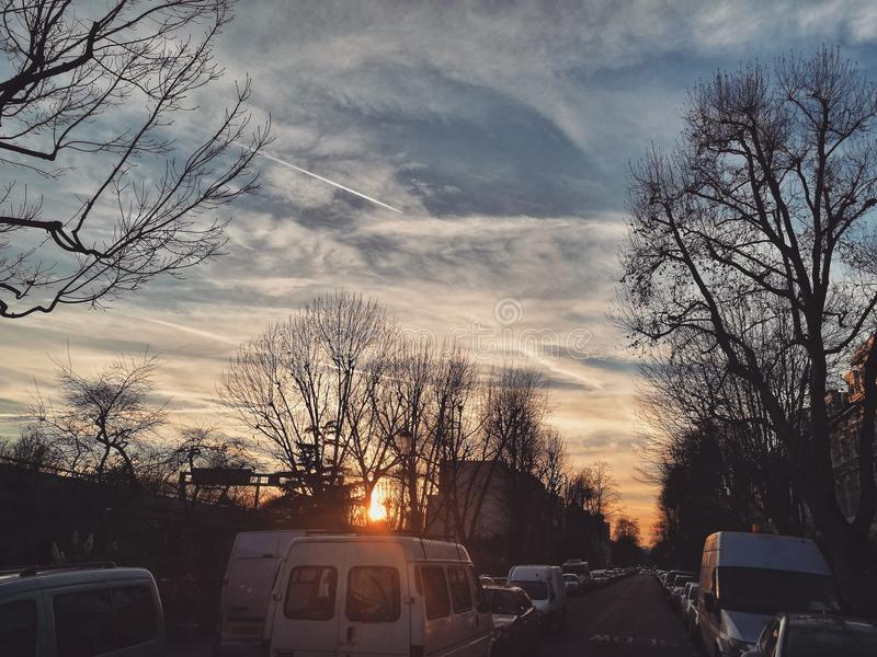 El cielo le llevará imágenes de archivo libres de regalías