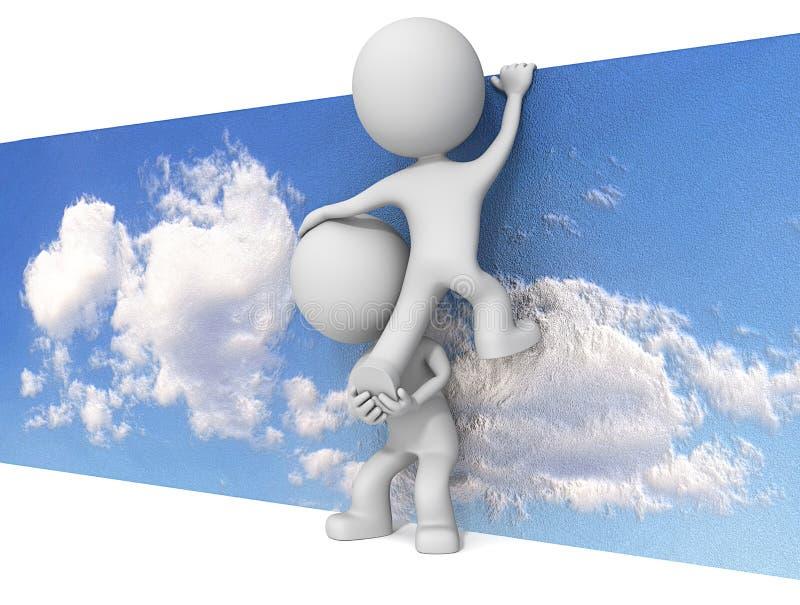 El cielo no es el límite libre illustration