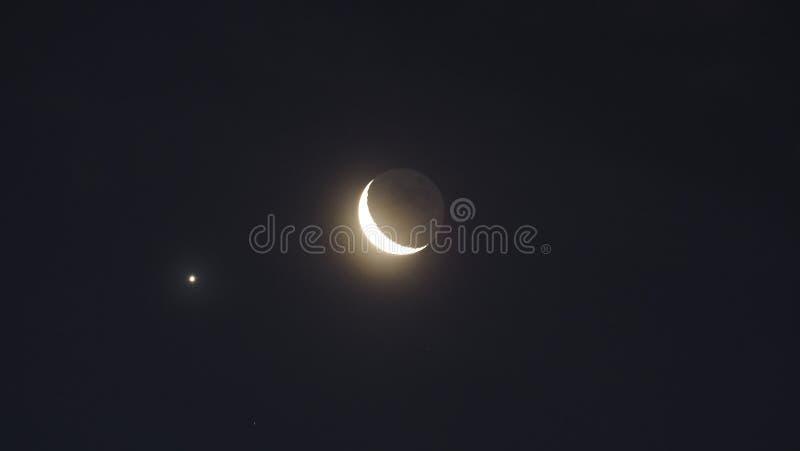 El cielo nocturno foto de archivo libre de regalías