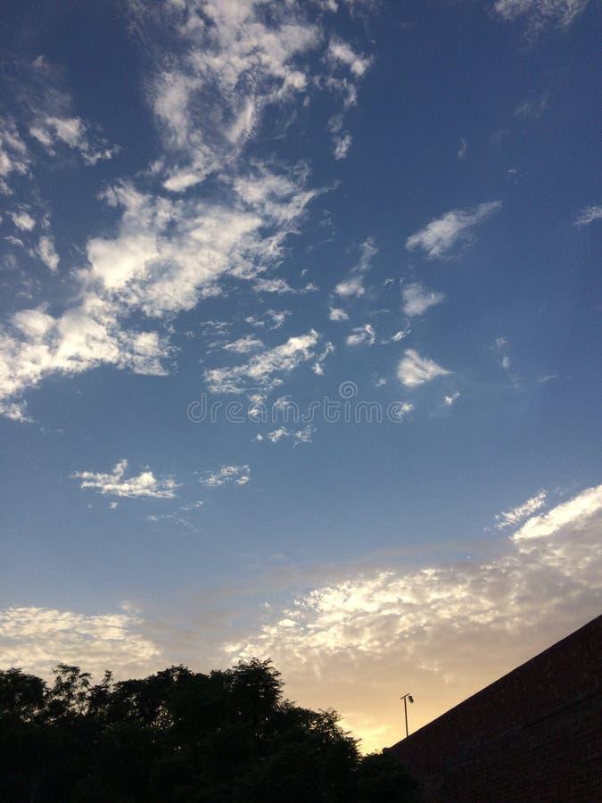 El cielo vivo imagenes de archivo