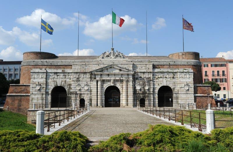 El citydoor viejo de Palio en Verona fotografía de archivo libre de regalías