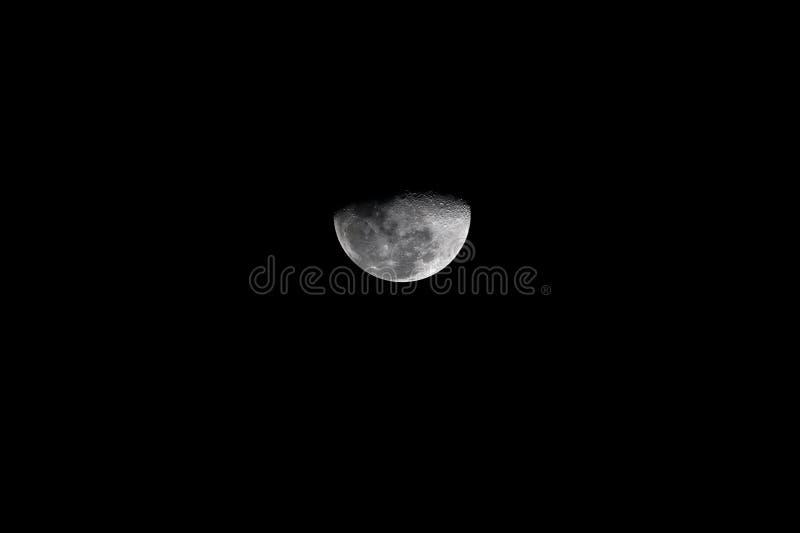 El claro de luna parece hermoso en febrero imagen de archivo libre de regalías