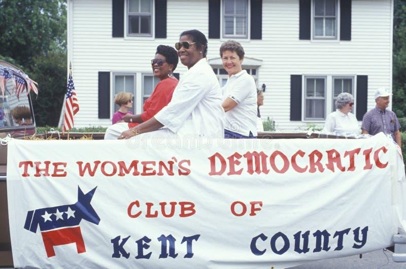El club Democratic de las mujeres foto de archivo
