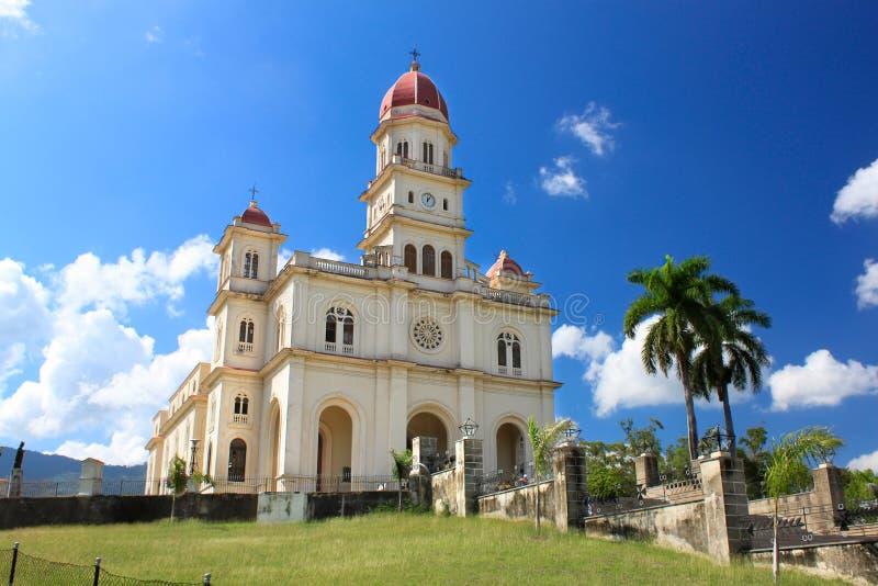 El Cobre教会 库存照片
