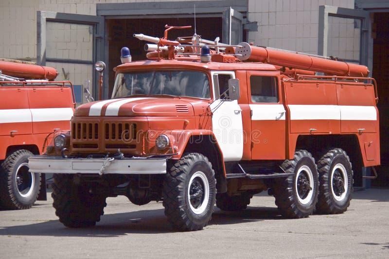 El coche de bomberos imagen de archivo libre de regalías