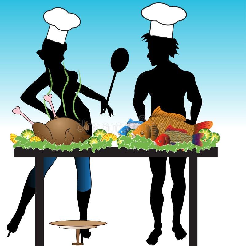 El cocinar libre illustration
