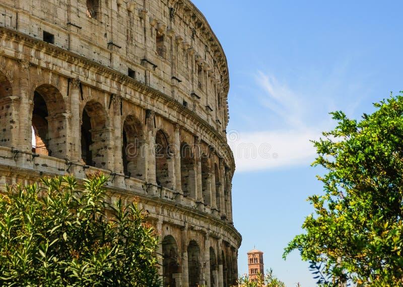 El coliseo o Flavian Amphitheatre imagenes de archivo