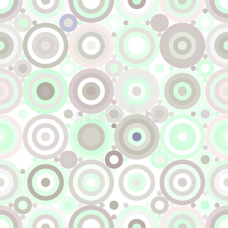 El color abstracto figura el modelo inconsútil ilustración del vector