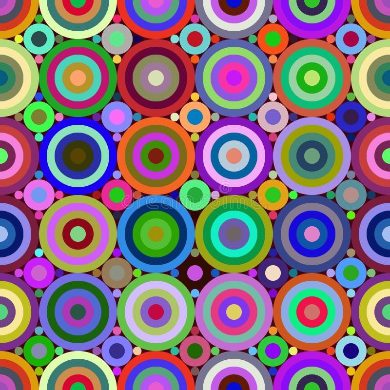 El color abstracto figura el modelo inconsútil libre illustration