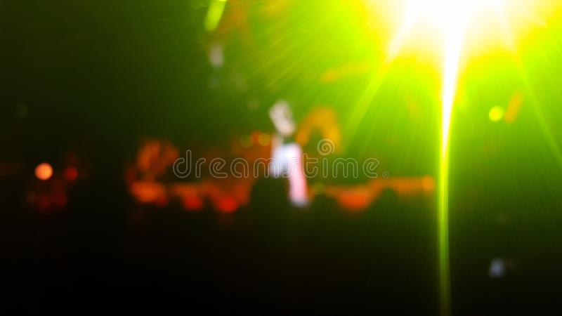 El color de la música imagen de archivo