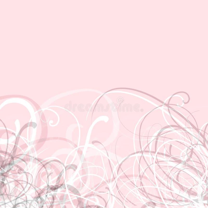 El color de rosa remolina bastante fondo fotos de archivo