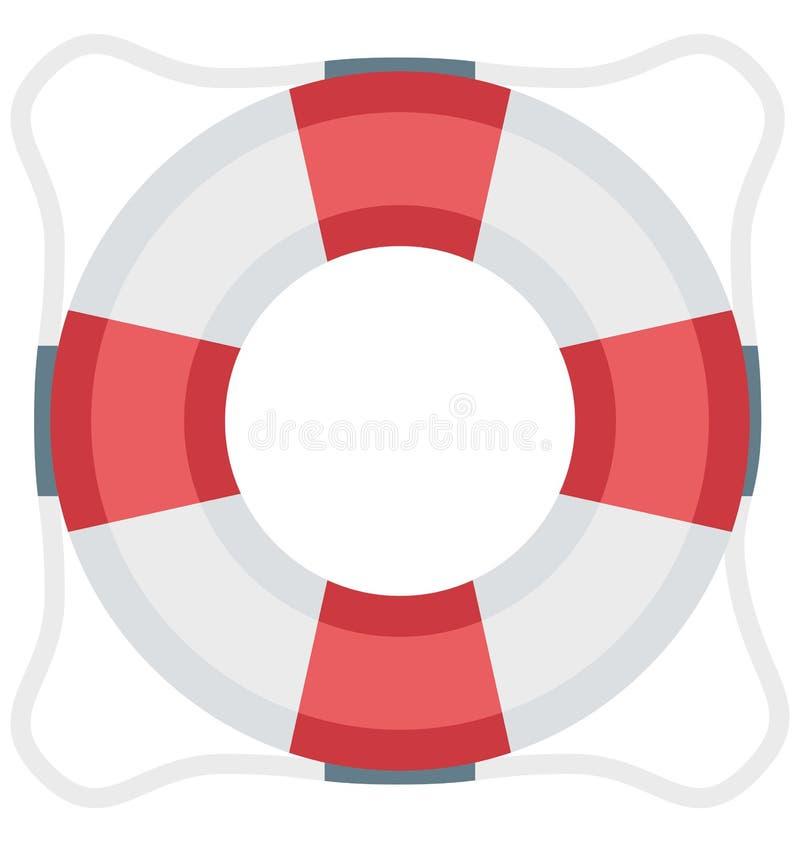 El color del flotador aisló el icono del vector que puede ser modificado y corregir fácilmente stock de ilustración