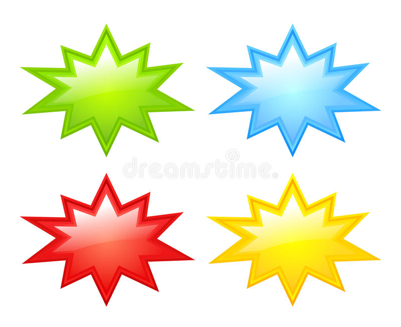 El color protagoniza iconos libre illustration