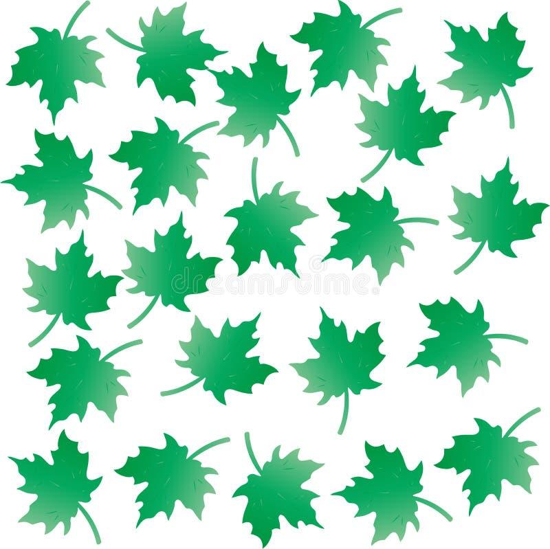 El color verde deja el fondo del modelo stock de ilustración