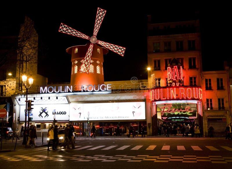 El colorete de Moulin. imagenes de archivo