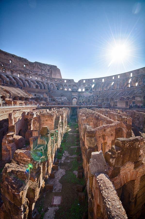 El Colosseum en Roma fotografía de archivo libre de regalías