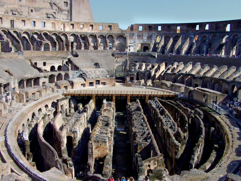 El Colosseum - interior foto de archivo libre de regalías