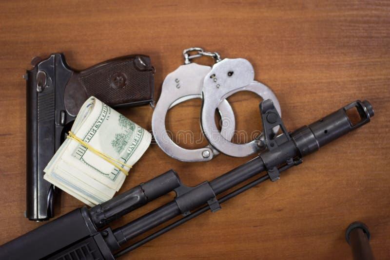 El comercio de armas foto de archivo libre de regalías
