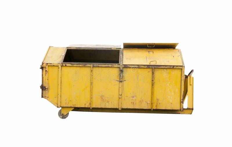 El compartimiento de acero adentro recicla imagen de archivo libre de regalías