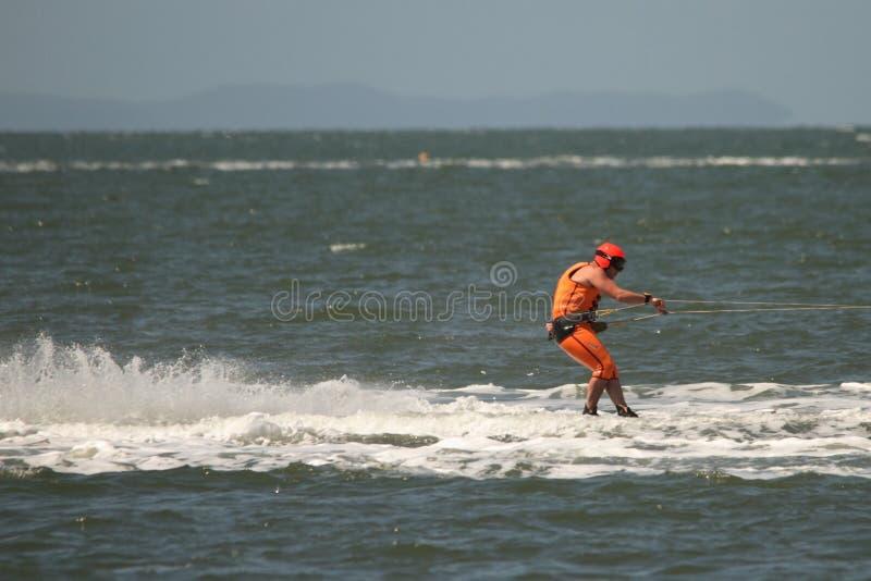 El competir con australiano del esquí de agua fotos de archivo