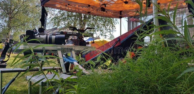El competir con de Watercross fotografía de archivo libre de regalías