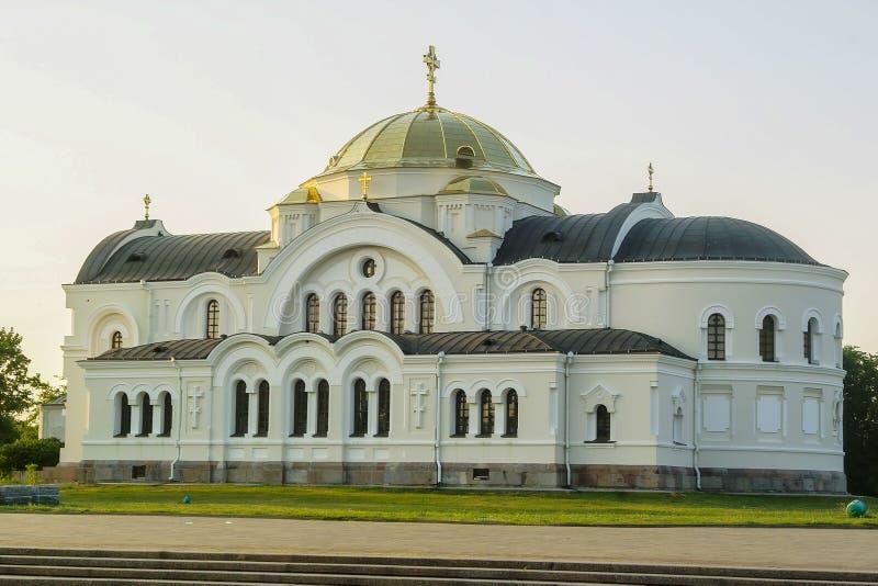 El complejo conmemorativo de la fortaleza de Brest en Bielorrusia fotos de archivo
