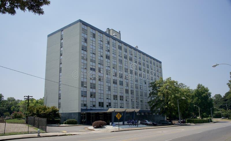 El complejo de apartamentos del lugar, Memphis, Tennessee foto de archivo libre de regalías