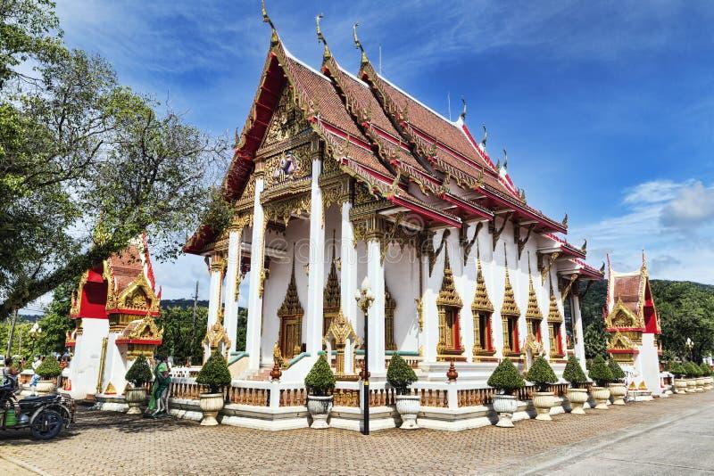 Download El Complejo Del Templo De Wat Chalong En El Distrito De Phuket, Tailandia Imagen editorial - Imagen de religión, cultura: 100530540