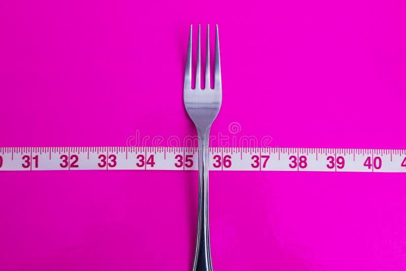 El concepto de dieta y pierde el peso imagen de archivo libre de regalías