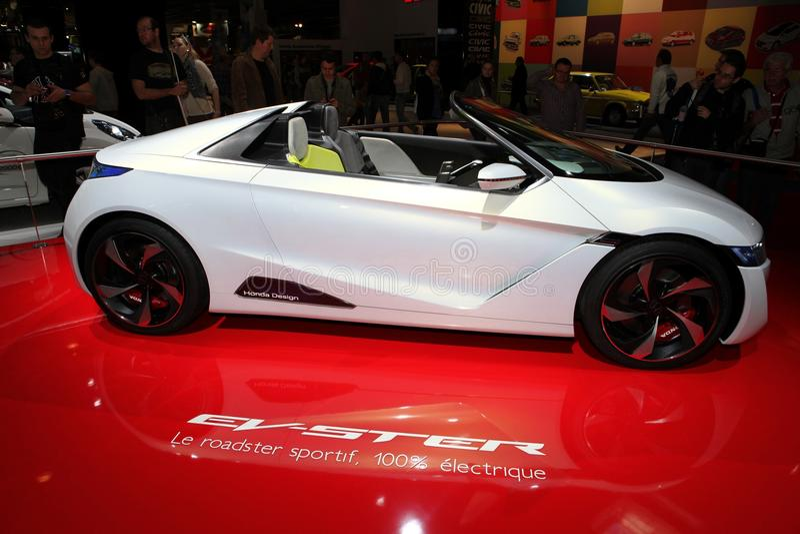 El concepto de Honda EV-Ster fotografía de archivo libre de regalías