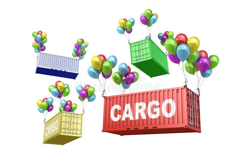 El concepto de transporte ecológico stock de ilustración