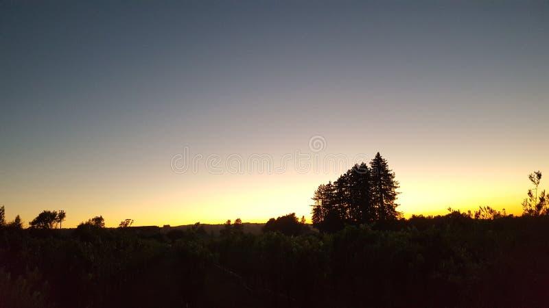 El condado de Sonoma hermoso foto de archivo