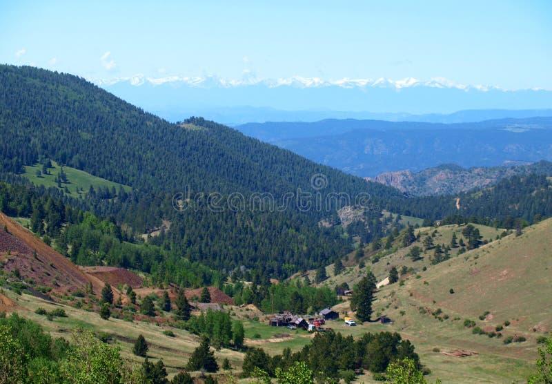 El condado de Teller, Colorado fotos de archivo libres de regalías