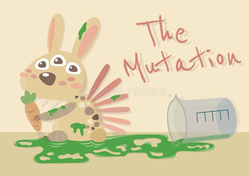 El conejito de la mutación libre illustration