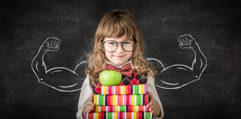 El conocimiento es potencia imagen de archivo libre de regalías