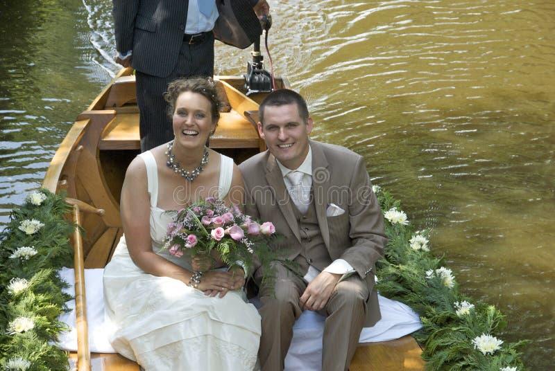 El conseguir maried fotografía de archivo