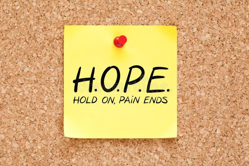 El control del dolor termina concepto de la esperanza fotos de archivo