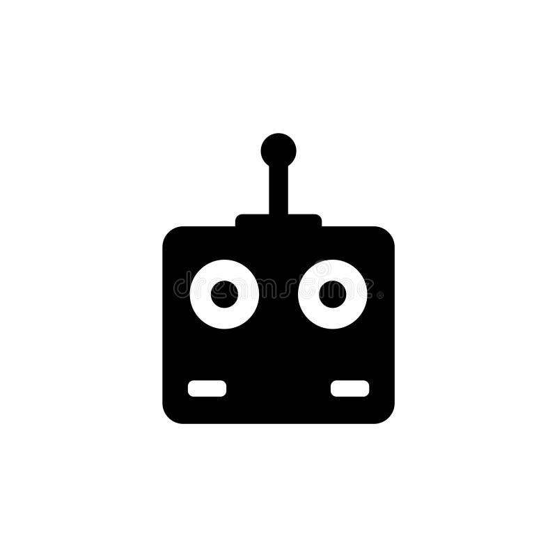 El control remoto Car, abejón, mosca juega el icono plano del vector libre illustration