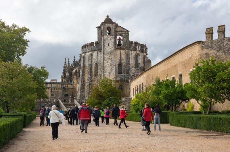 El convento de Cristo fotografía de archivo