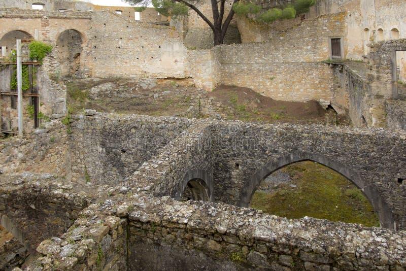 El convento de Cristo es un monasterio católico anterior adentro a foto de archivo libre de regalías