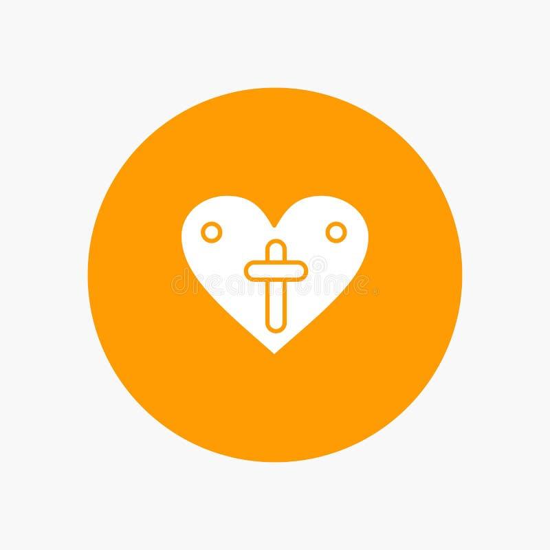 El corazón, amor, Pascua, ama stock de ilustración