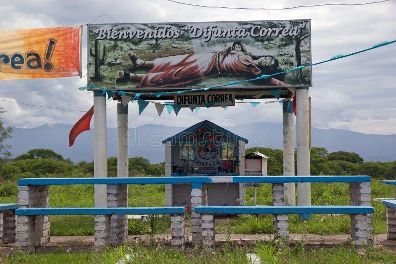 El Correa difunto, EL Carmen, la Argentina fotos de archivo libres de regalías