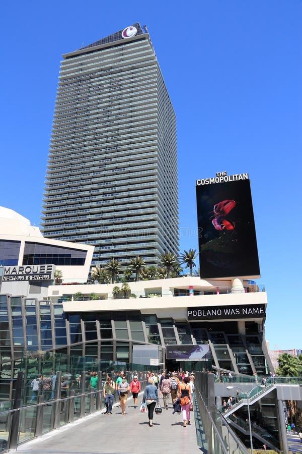 El cosmopolita, Las Vegas fotografía de archivo
