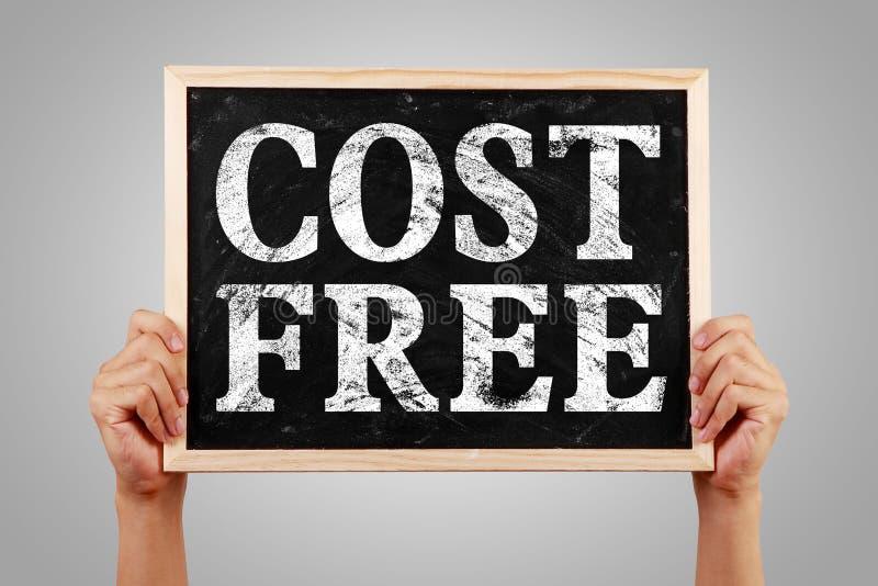 El coste libera foto de archivo libre de regalías