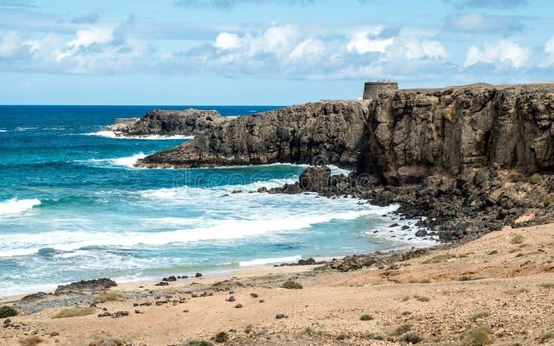 EL Cotillo di Fuerteventura immagini stock libere da diritti
