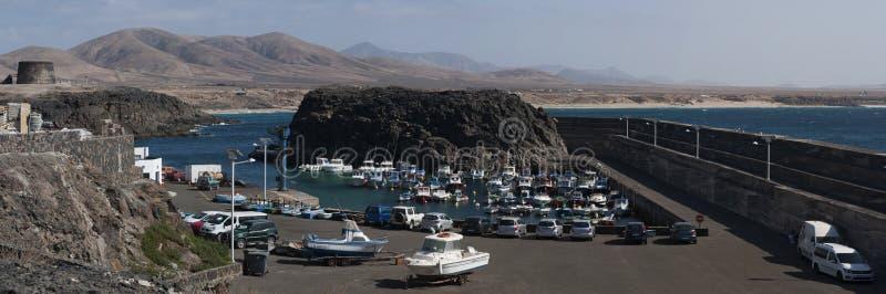 El Cotillo, Fuerteventura, kanariefågelöar, Spanien arkivfoto