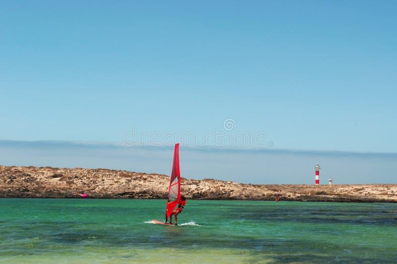 El Cotillo, Fuerteventura, wyspy kanaryjska, Hiszpania zdjęcia stock